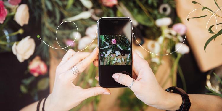 mano-sujeta-movil-app-plantas